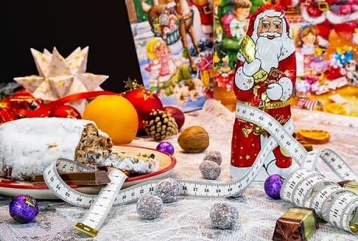 Kalorien in der Weihnachtszeit