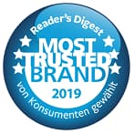 Most Trusted Brand 2018 Button