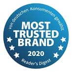 Most Trusted Brand 2020 Button